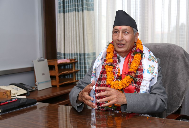 Finance Minister Khatiwada to retain the post