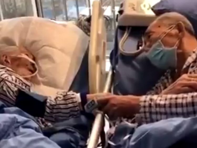 Video of an old coronavirus patients saying goodbye goes viral