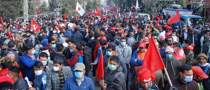 प्रचण्ड-नेपाल पक्षले घोषणा गर्यो आन्दोलनका थप कार्यक्रम