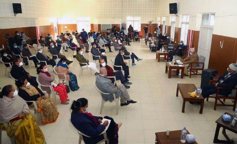 नेपाली कांग्रेसले प्रतिनिधिसभा विघटनविरुद्ध तेस्रो चरणको आन्दोलन गर्ने