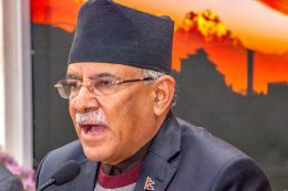 "Dahal sure about winning the ""Current Battle"""