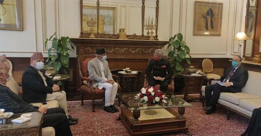 नेपाल भारत परराष्ट्रमन्त्री स्तरीय संयुक्त आयोगको बैठक बस्दै