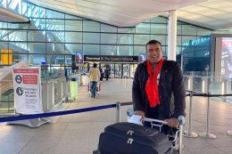 """Master chef UK"" Santosh Shah arrived Nepal"