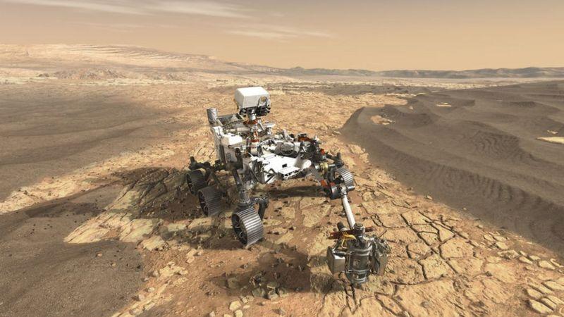 पृथ्वीबाट उडेको २०३ घण्टामा अमेरिकी अन्तरिक्ष यान मङ्गल ग्रह अवतरण