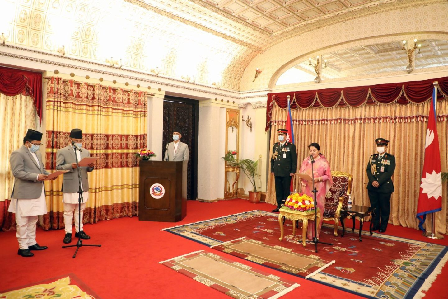 Nepali Ambassador to UK and South Africa sworn in