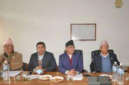 नेकपा प्रचण्ड-नेपाल समूहले प्रचण्डलाई बनायो संसदीय दलको नेता
