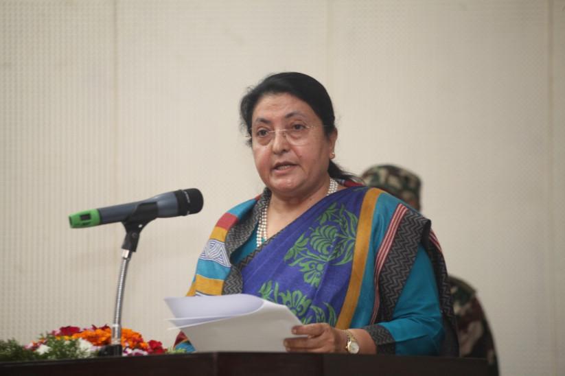 योगभूमि नेपाल योग एवं तन्त्रसम्बद्ध ज्ञान–विज्ञानका अध्येताका लागि मूख्य गन्तव्य बन्न सक्छः राष्ट्रपति