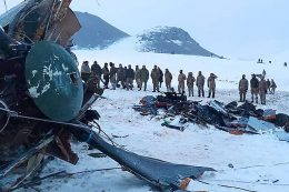 9 soldiers killed in military helicopter crash in E. Turkey