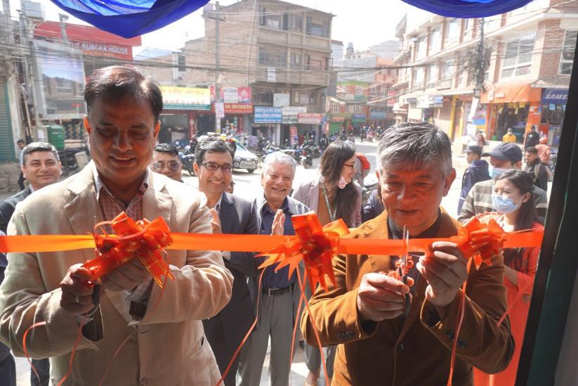 Sanima Bank open its new branch in Kritipur, Kathmandu