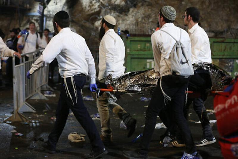 44 Die in Stampede at Religious Fair in Israel