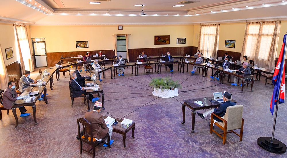 एमाले केन्द्रीय कमिटीको बैठक बस्दै