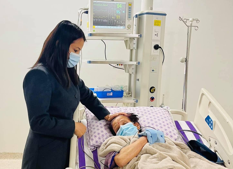 Prachanda's Wife Sita Dahal Admitted to the Hospital