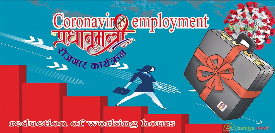 'प्रधानमन्त्री रोजगार कार्यक्रम'बाट लक्ष्यको ४ प्रतिशत लाभान्वित, अन्य कार्यक्रमको हविगत उस्तै