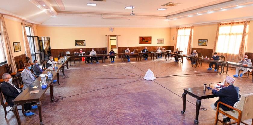 एमालेको महाधिवेशन आयोजक कमिटीको बैठक असार १६ मा बस्ने