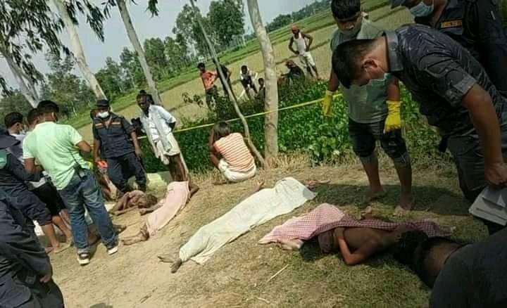 धनुषामा पोखरीमा डुबेर एकैपटक पाँच बालिकाको मृत्यु
