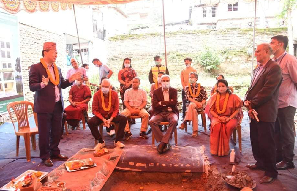 बीपी कोइराला अध्ययन केन्द्रको भवन बनाउन काठमाडौं महानगरको २ करोड सहयोग