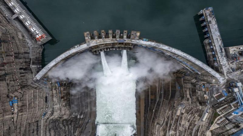 चीनमा विश्वकै दोस्रो ठूलो जलविद्युत् आयोजनाबाट परीक्षण उत्पादन शुरु