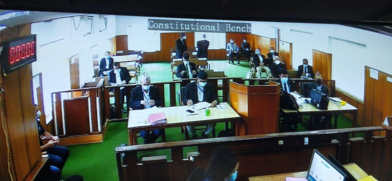 निवेदक पक्षका वकिलको तर्क : वैकल्पिक सरकार बन्ने अवस्थामा संसद् विघटन गर्न मिल्दैन