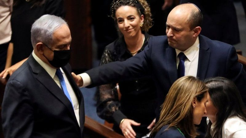इजरायमा बेन्जामिन नेतान्याहुको सत्ता अन्त्य, दक्षिणपन्थी राष्ट्रवादी नाफ्ताली नयाँ प्रधानमन्त्री