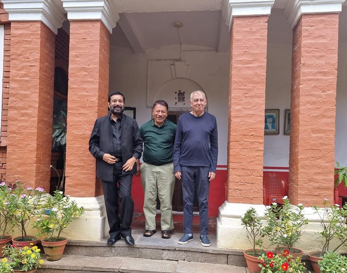 कांग्रेसका तीन नेताको बैठक चाक्सिबारिमा, महाधिबेशन केन्द्रित छलफल