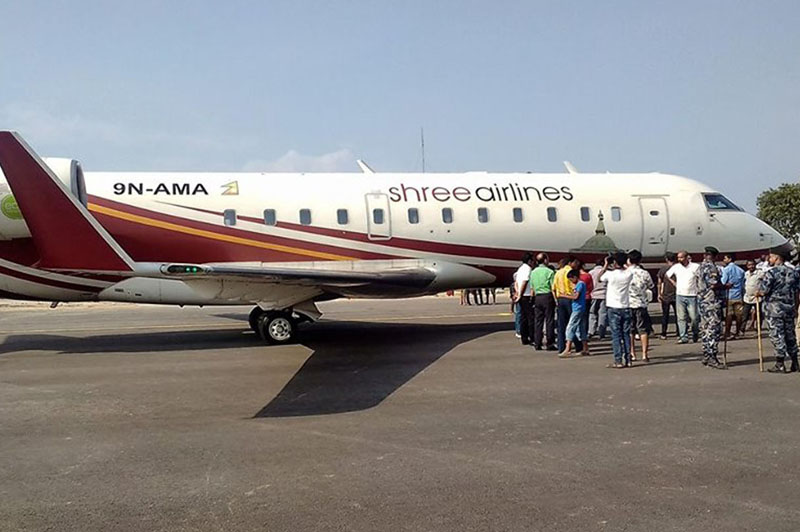 Passengers vaccinated with Corona will be given a discount by Shree Airlines