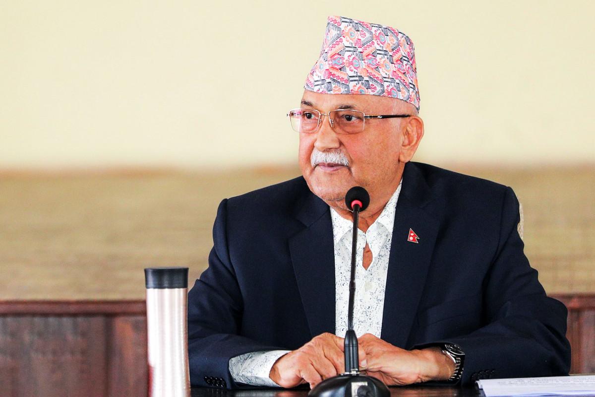 प्रचण्ड र माधव नेपाल मिलेर दुई पटक पार्टी फुटाए : एमाले अध्यक्ष ओली