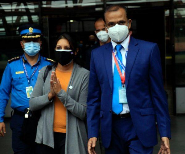 आइपुगिन एमसीसी उपाध्यक्ष फातेमा काठमाडौँमा, सुरक्षा व्यवस्थामा उच्च सतर्कता